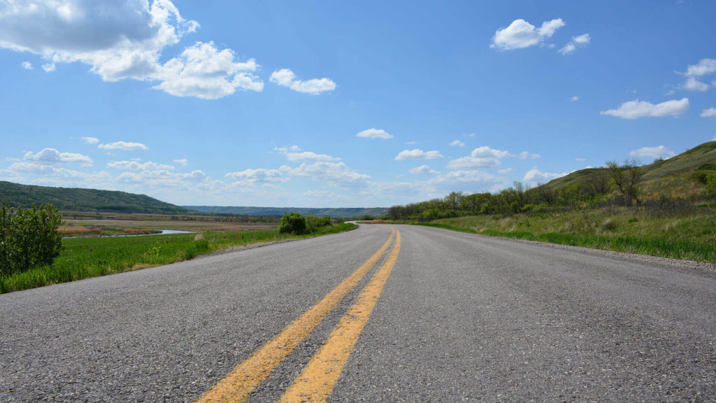 Saskatchewan routes